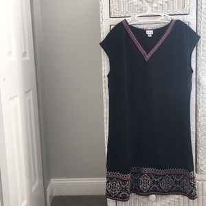 Black business casual dress- size XL
